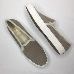Keds Double-Decker faux suede comfort sneakers